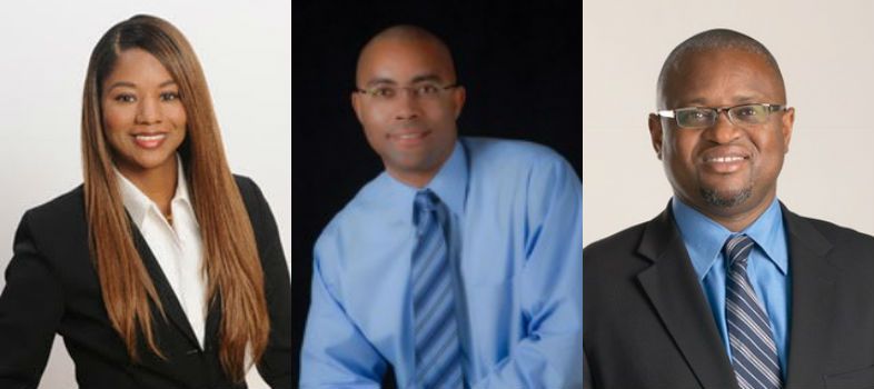 Honorees: LaSheila Yates, Anthony Arrington, Dr. Vincent Reid (Dr. Percy Harris Fellowship Award)