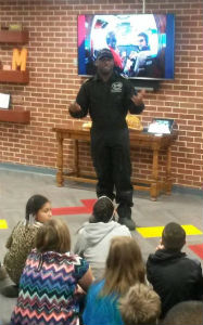 Academy for Scholastic and Personal Success Programs Barrington Irving Expansion Speaker