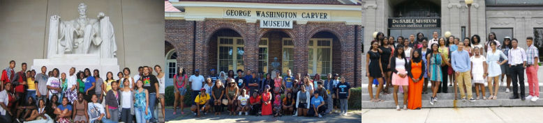 Travel to places rich in African American History is an integral part of our programming