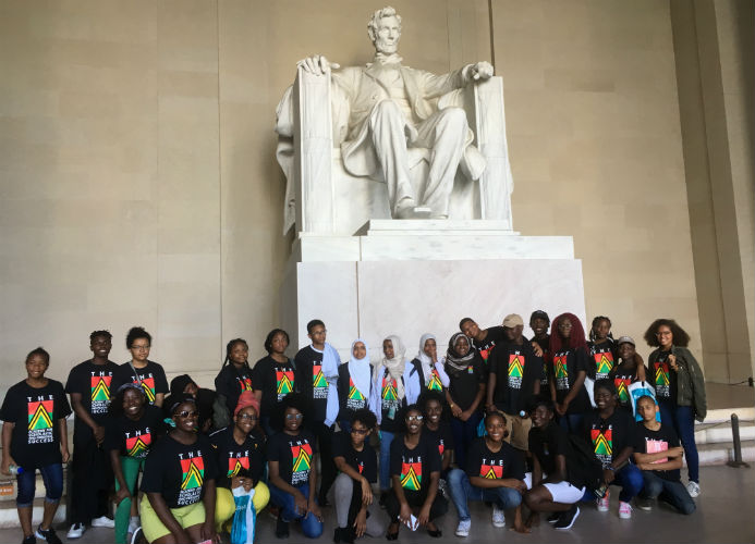 The Academy for Scholastic and Personal Success Travel Opportunities Lincoln Memorial